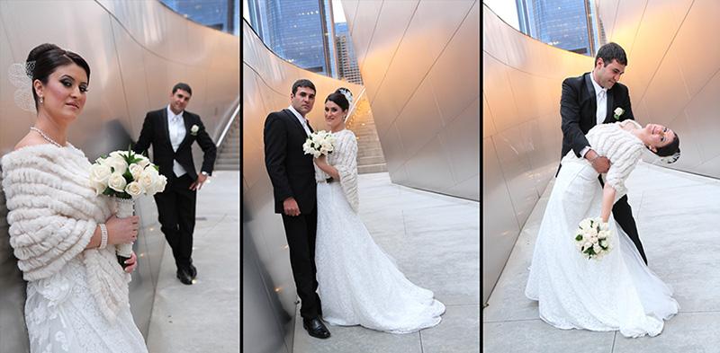 Wedding Couple at Disney Hall