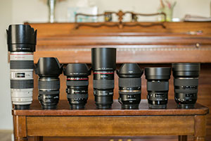 My Lens Lineup